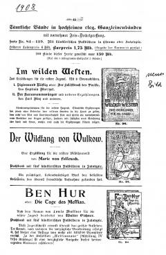 Weichert-Katalog 1908-45