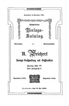 Weichert-Katalog 1904-1